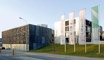 The WBF HQ building